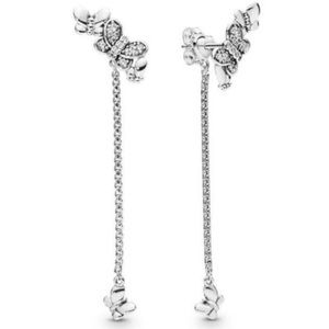 Pandora Bedazzling Butterflies Earrings